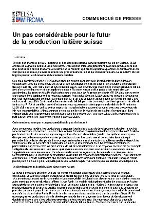 Communiqué presse Lait durable (F)