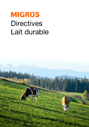 Richtlinien Nachhaltige Milch